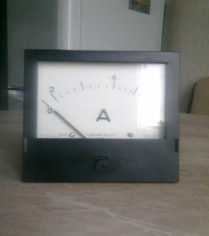 Продам амперметр 0-10 А, Э-365-1, новый