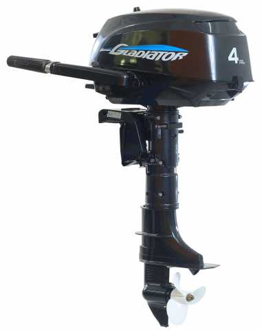 Продам Лодочный мотор gladiator gf4hs новый