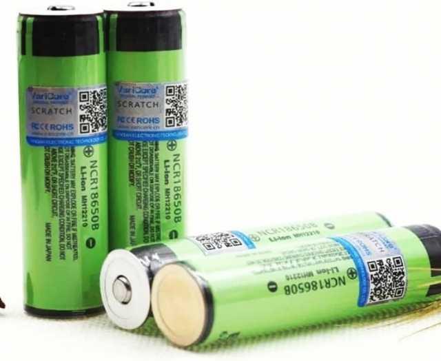 Продам 18650 Li-ion аккумуляторы 3400 mAh с защ