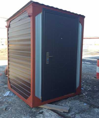 Продам Туалет уличный металлический утепленный