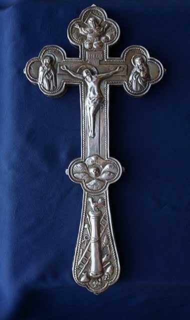 Продам: Старинный напрестольный крест. XVIII век