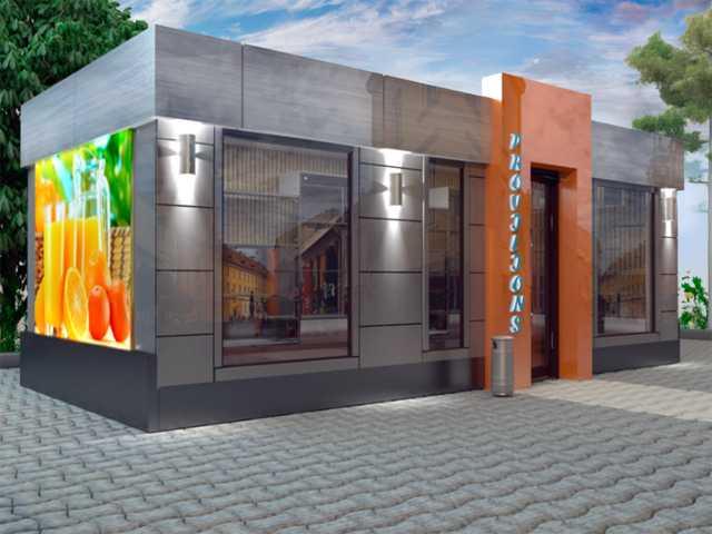 Предложение: ремонт и отделка торговых павильонов