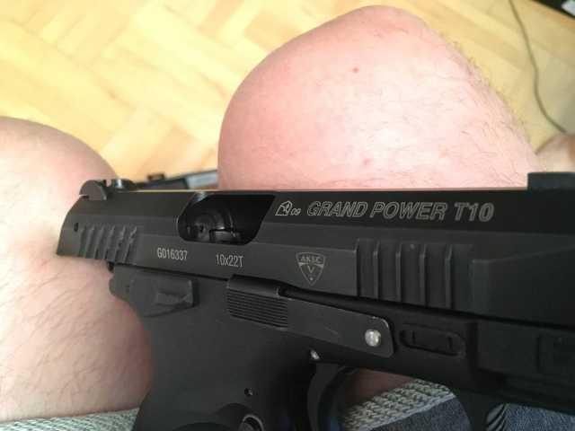 Продам grandpower t10