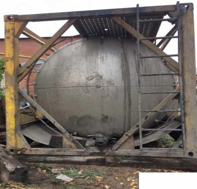 Продам Танк-контейнер б/у, из нержавеющей стали