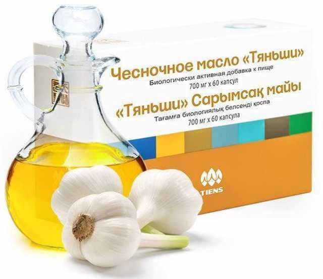 Продам: Чесночное масло Тяньши