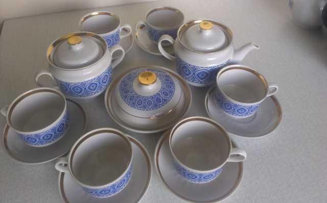 Продам сервиз чайный на 6 персон