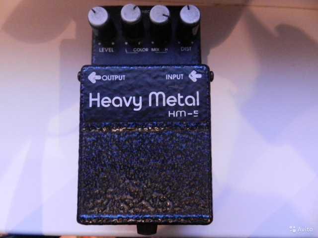 Продам Гитарная педаль Digitech Heavy Metal 5