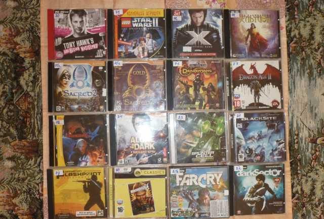 Продам РС игры DVD и VHS видео