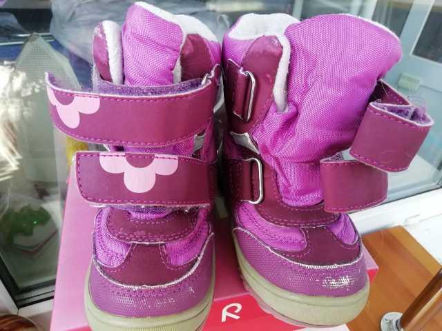 Продам Ботинки для девочки на липучках, р24