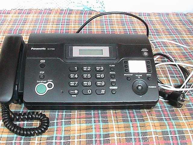 Продам: факс. аппарат Panasonic бу в отл.состоян