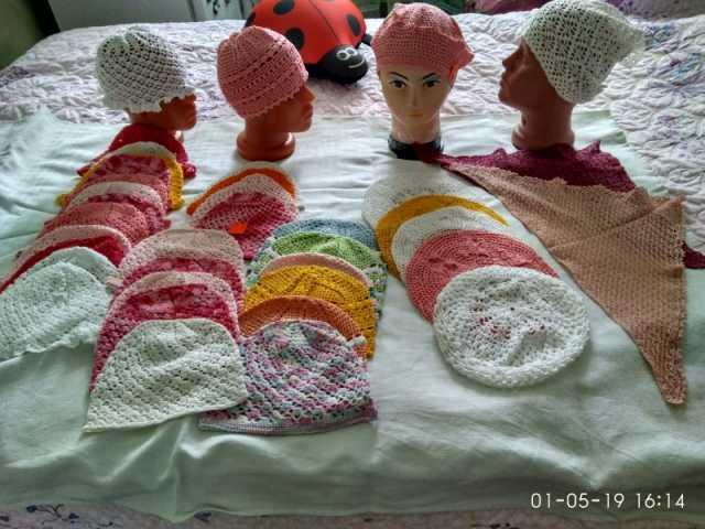 Продам головные уборы для детей (летний ассорти