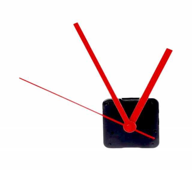 Продам механизм для часов с длин. валом (новый)