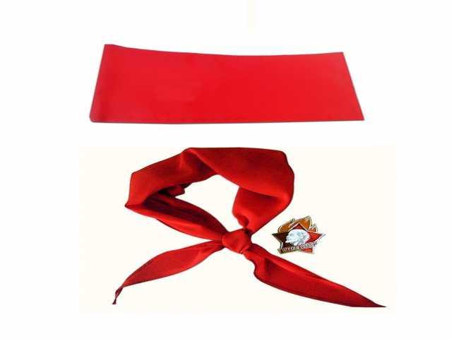 Продам Пионерский галстук + пилотка + значок (п