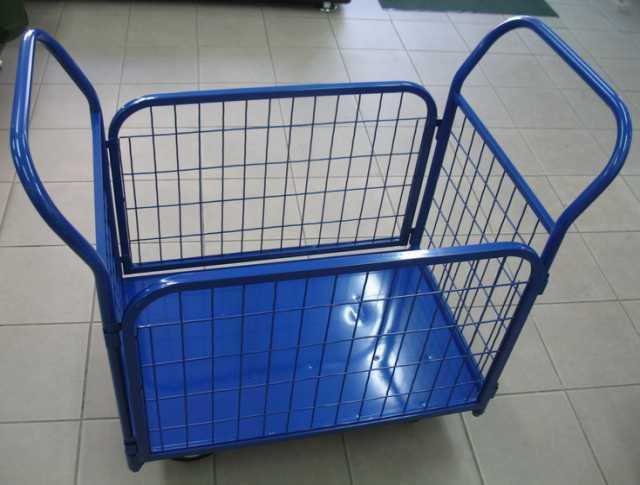 Продам: Платформенная тележка с бортами ТПС