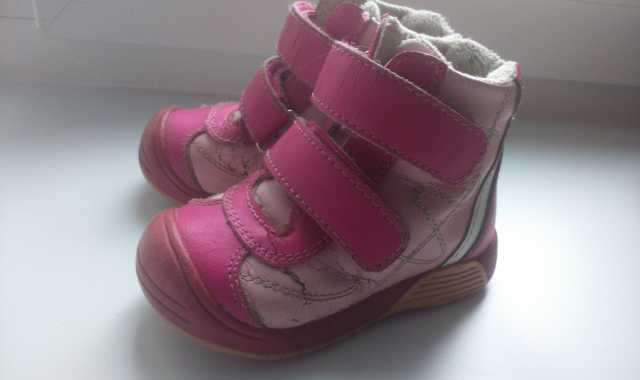 Отдам даром: Ботинки на девочку, 24 размер