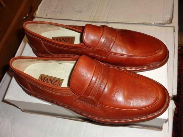 Продам Туфли 42(9) р-р,Германия,кожа,ручная раб