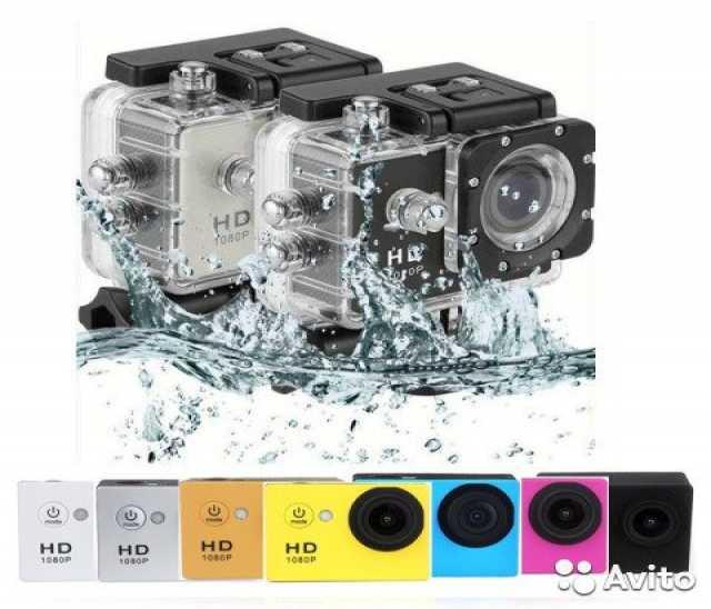 Продам Новая Экшн-камера, аквабокс. (магазин,га