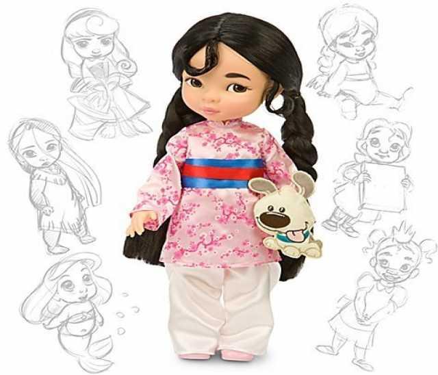 Продам Мулан кукла принцесса диней