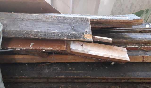 Отдам даром: доска половая на дрова