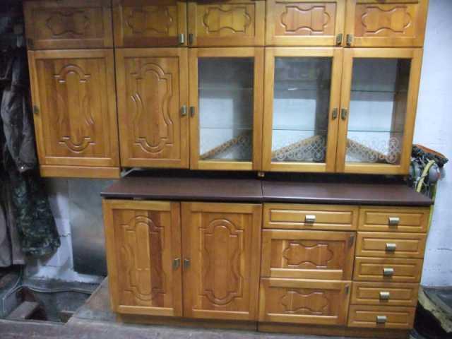 Продам Кухня из сибирского кедра