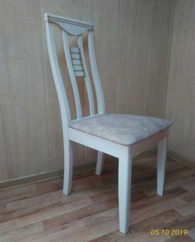 Продам Стул деревянный из массива БУК(белая пат