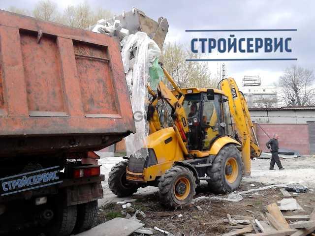 Предложение: Вывоз мусора,снега, планировка участков