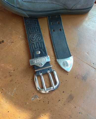 Продам Ремень кожаный Diesel (Италия)