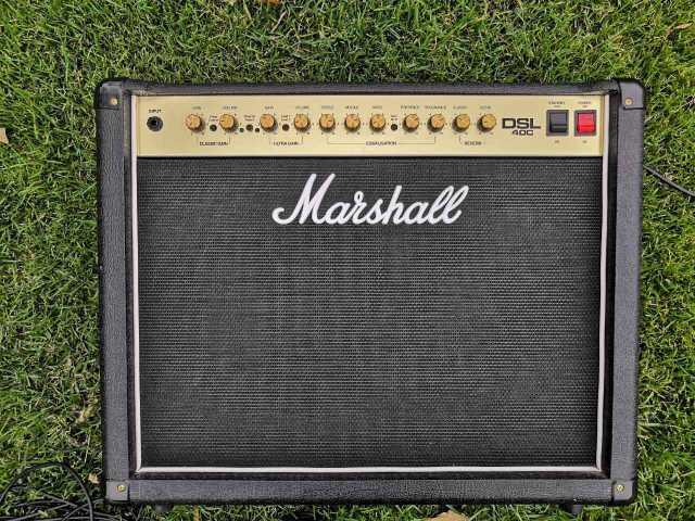 Продам Ламповый комбоусилитель Marshall dsl40с