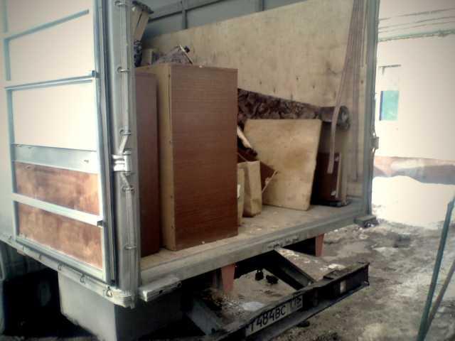 Предложение: Вывоз старой мебели под ключ