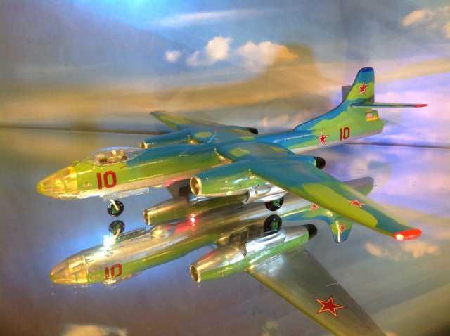 Продам Модель самолета Ту-14.1/72.Уникальный