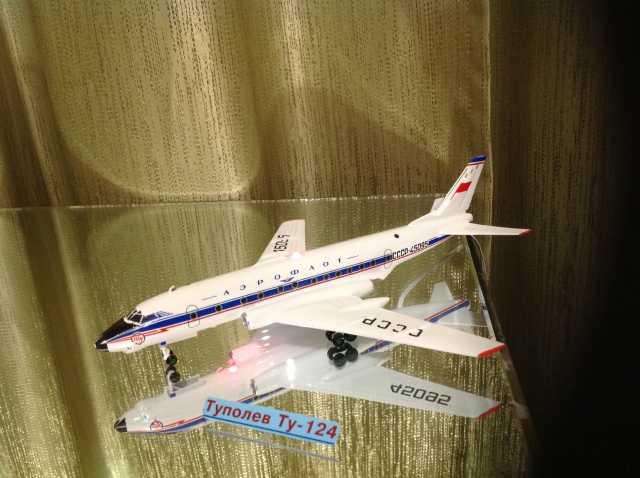 Продам Модель самолета Ту-124.1/144