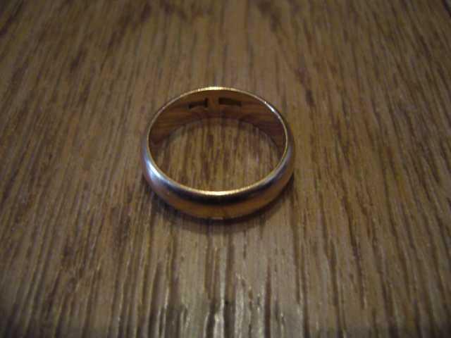Продам обручальное золотое кольцо пр 585