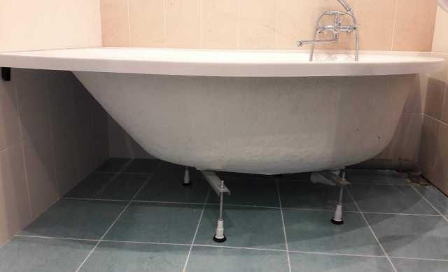 Продам Угловую акриловую ванну б/у
