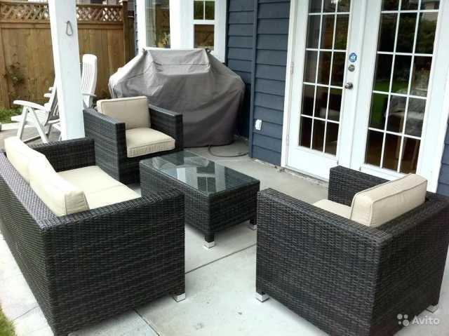 Продам Мебель из ротанга для сада и дачи