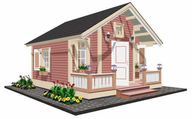 Предложение: Сказочный садовый домик TEREMDOM №11