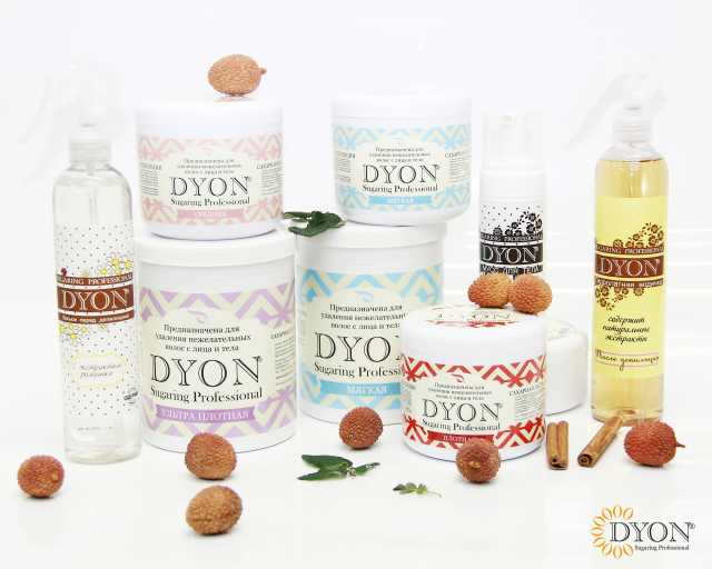 Продам Сахарная паста и косметика Dyon,пробники