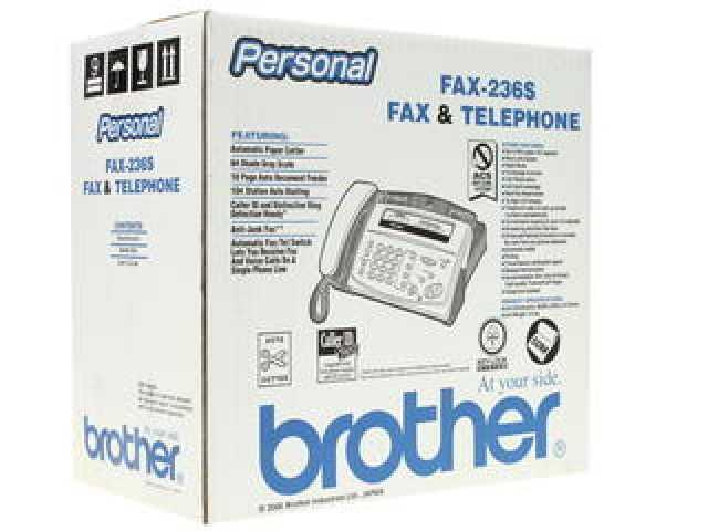 Продам Факс brother fax-236s