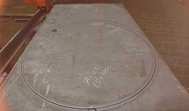 Предложение: Плазменная резка металла
