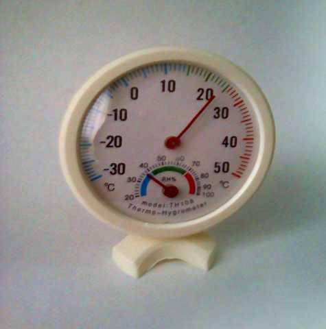 Продам: Термометр-гигрометр механический