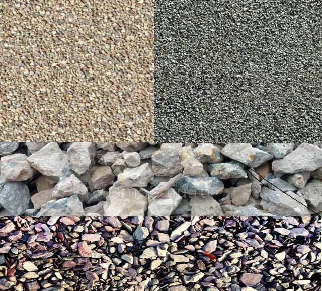 Продам: щебень, песок