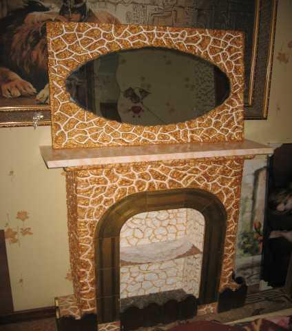 Продам: Декоративный камин с зеркалом