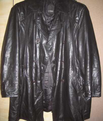 Продам кожаный плащ «Al Franco» 52-54 р-р