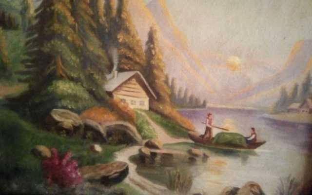Продам Картина маслом, примерный возраст 19 век