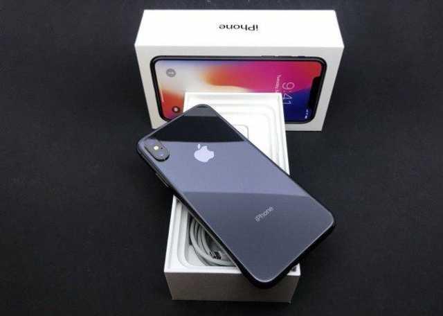 Отдам даром iPhone X новый