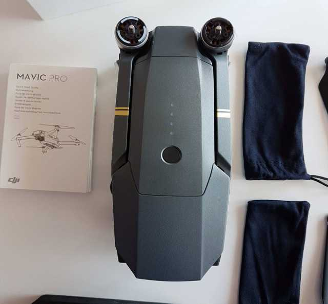 Продам DJI Mavic Pro Fly More Combo Quadcopter