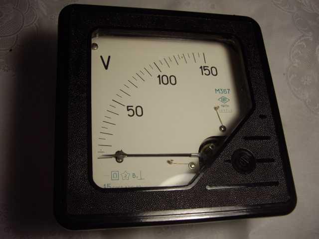 Продам: Вольтметр постоянный М367