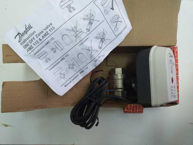 Продам Danfoss AMZ 112 Клапан шаровый двухходов
