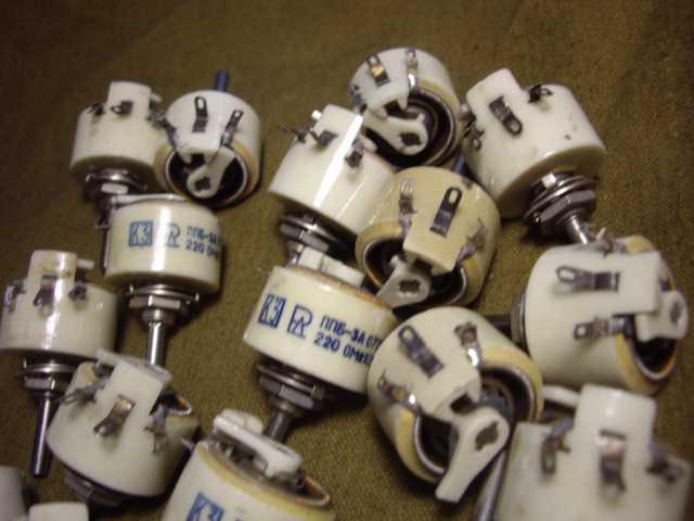 Продам Для промышленности резистор переменный