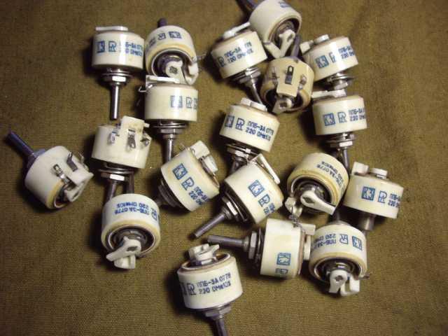 Продам Для радиолюбителей резистор ППБ-3А