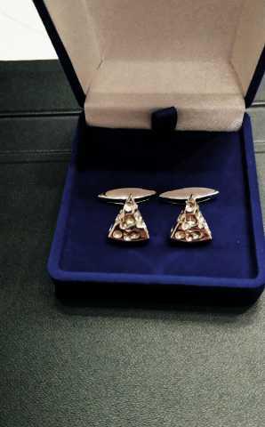 Продам Серебряные запонки